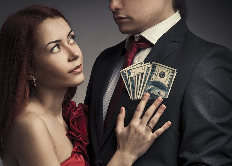 Rich guys online dating