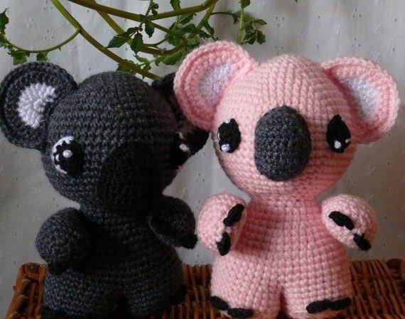 Koalas Aren't Bears Crochet Pattern PDF by voodoomaggie on Etsy