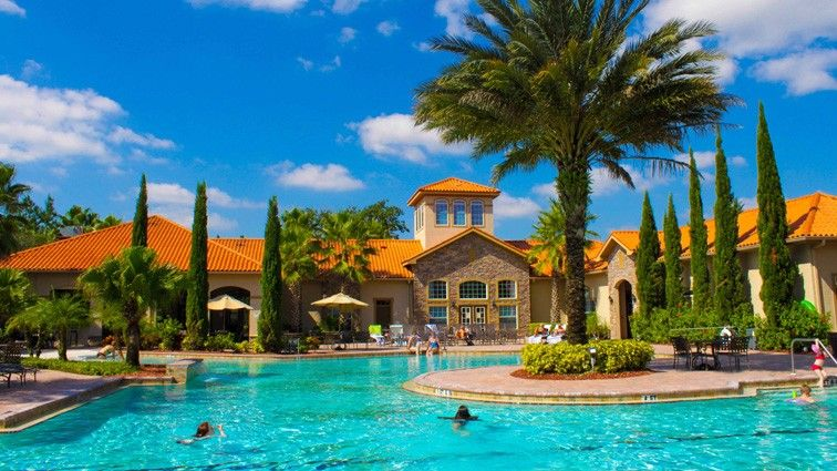Orlando Vacation Rental - VRBO 466582 - 3 BR Central-Disney-Orlando Area Condo in FL, Luxurious 3 Bed Condo with Onsite Bar & Rest. 10 Mins from Disney
