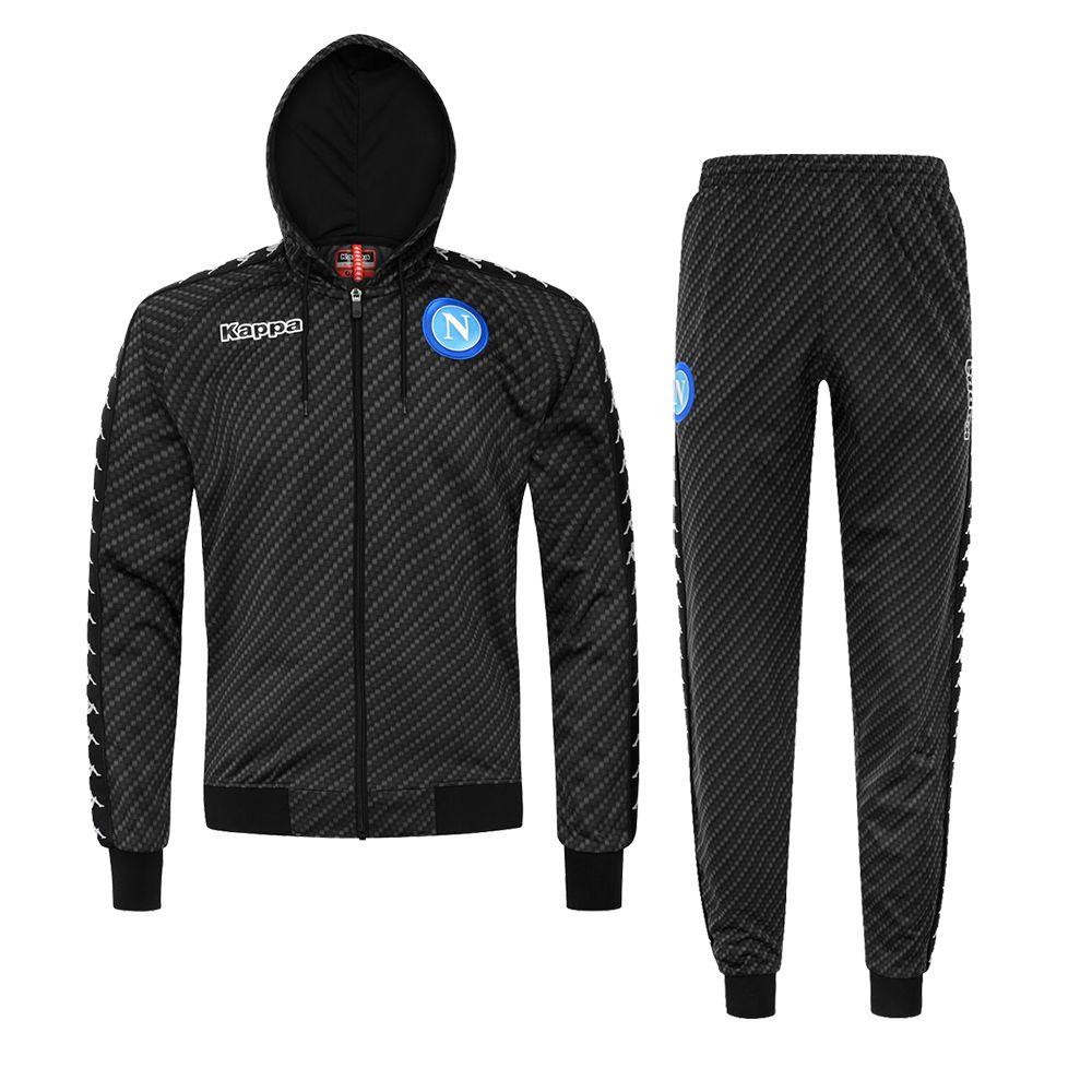0f8f18b5d4 TUTA BANDA CON CAPPUCCIO SSC NAPOLI | Maglie calcio | Abbigliamento ...