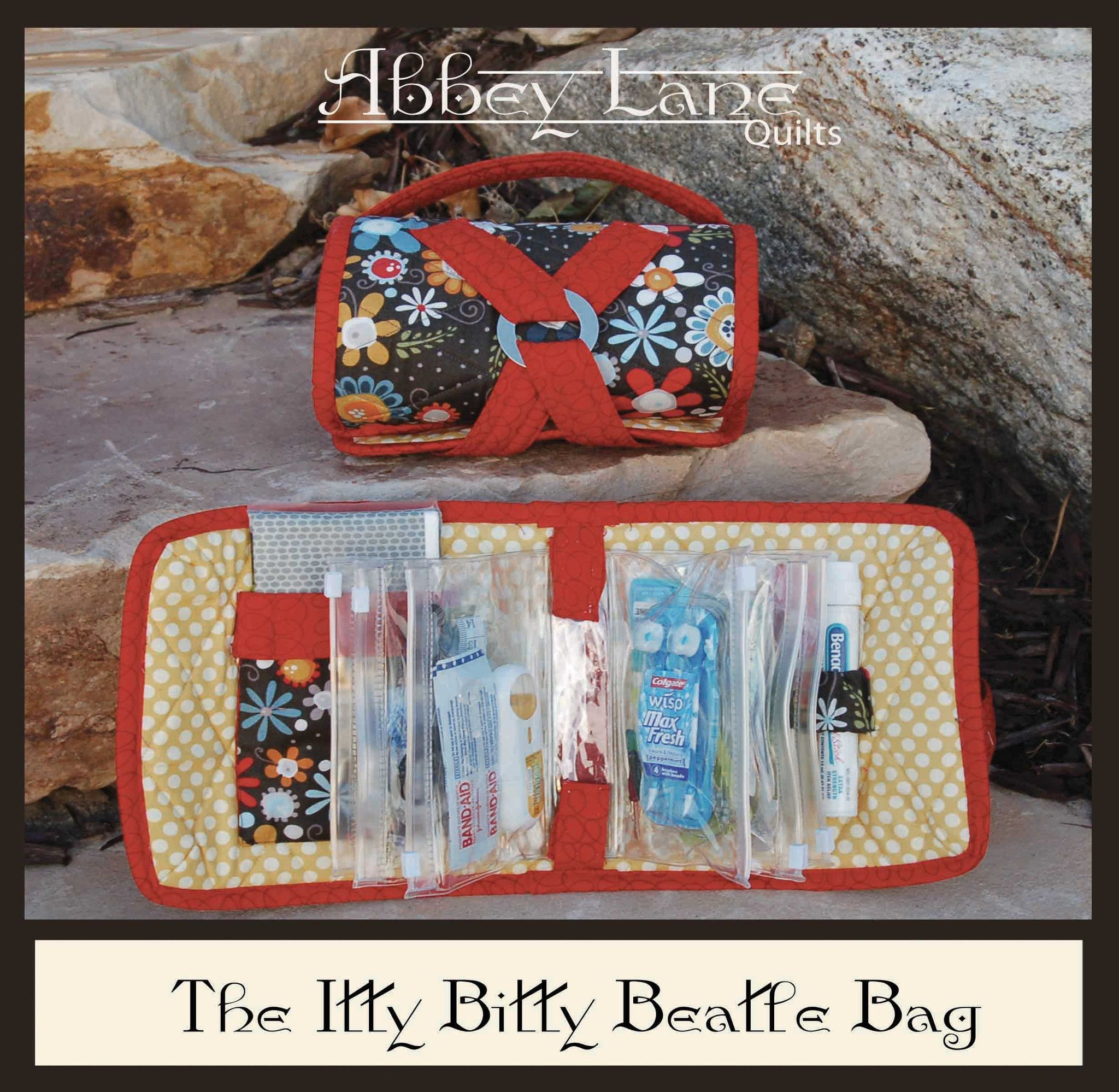 Abbey Lane - Itty Bitty Beatle Bag - Pattern | diy purses...pouches ...