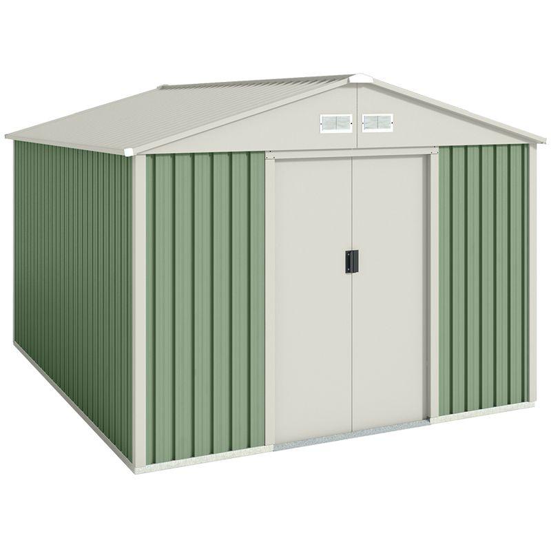 Abri De Jardin En Metal Galliv 7 86 M Hoggar Locker Storage Outdoor Storage Outdoor Structures