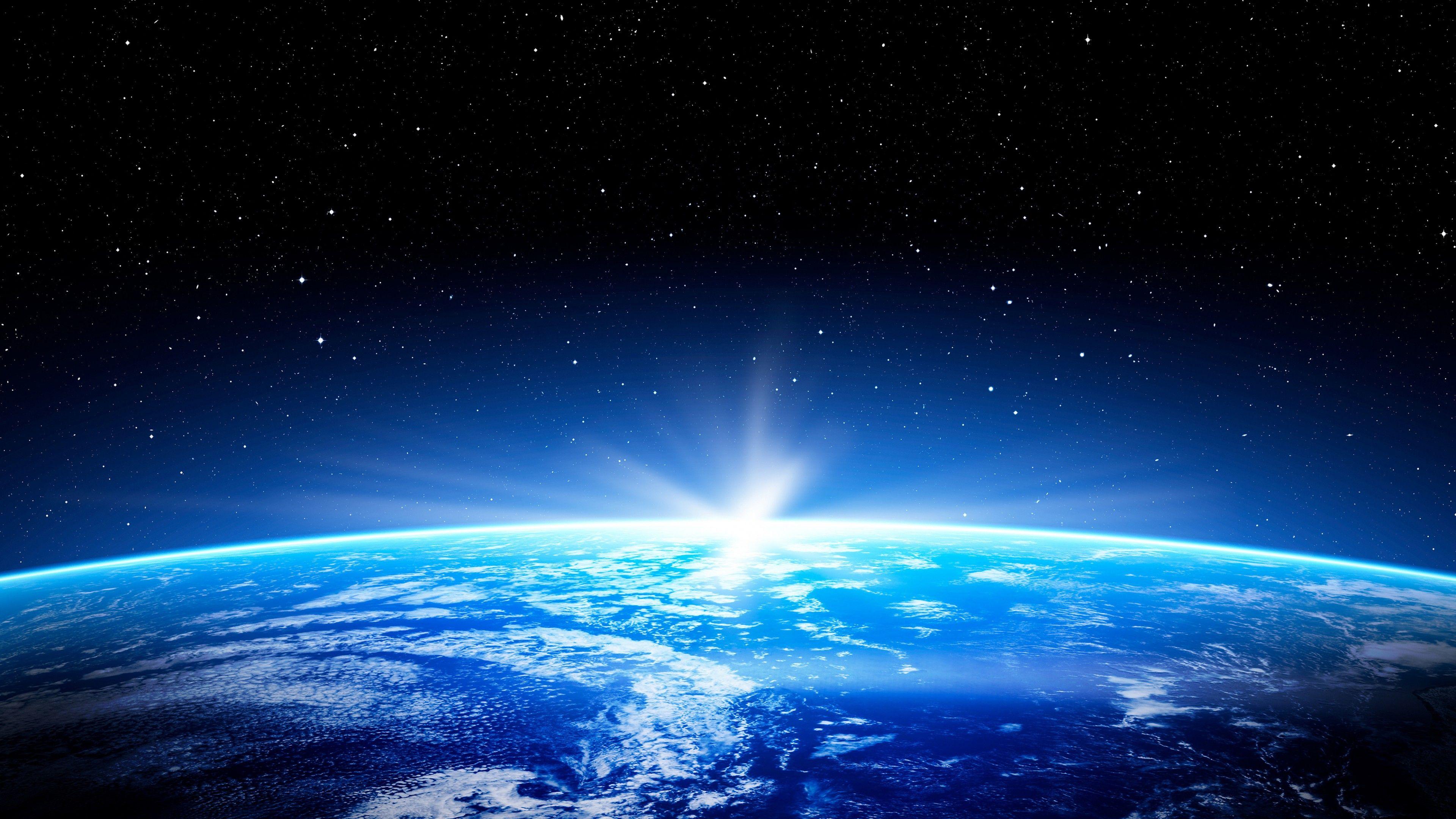 Galaxy Earth Horizon 예술