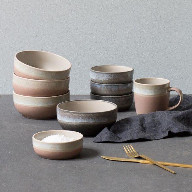 Graceful Ceramics With Rustic Glazing Kitchenware Price Per Item From DKK 1560