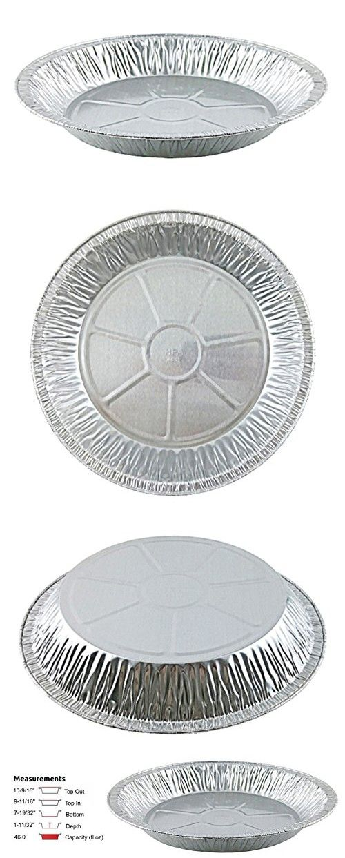 Handi-Foil 11  Aluminum Foil Pie Pan Extra-Deep Disposable Tin Plates (pack of 100)  sc 1 st  Pinterest & Handi-Foil 11