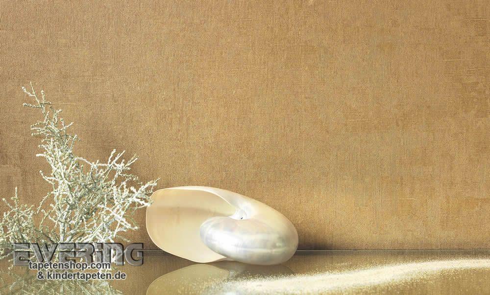 Majestic 10 - Diese goldenen Unitapete wird zum Highlight im - wohnzimmer orange beige