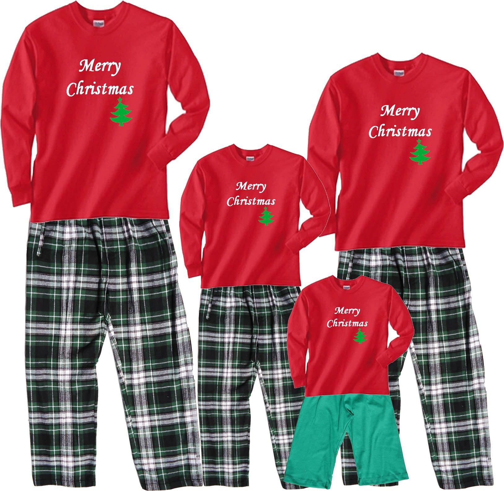 5c4381b08f merry christmas tree family pajamas