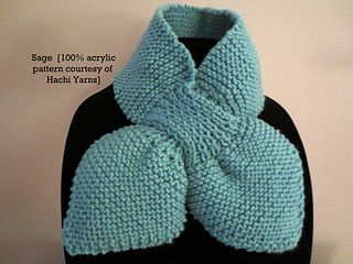 Ascot Bow Tie Scarf Pattern By Hachi Yarns Bow Scarf
