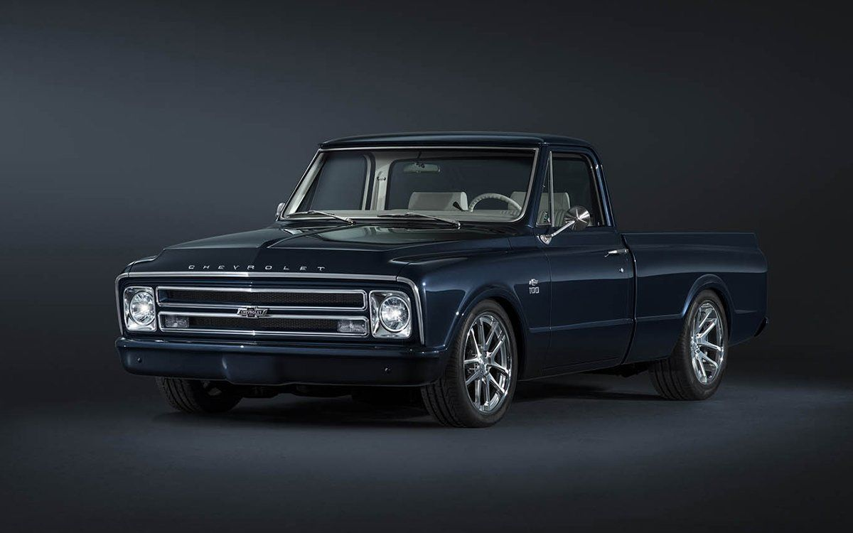 Chevy Celebrates 100 Years With The Prettiest Pickup Of The
