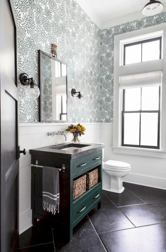35 Powder Room Design Ideas (Photos)