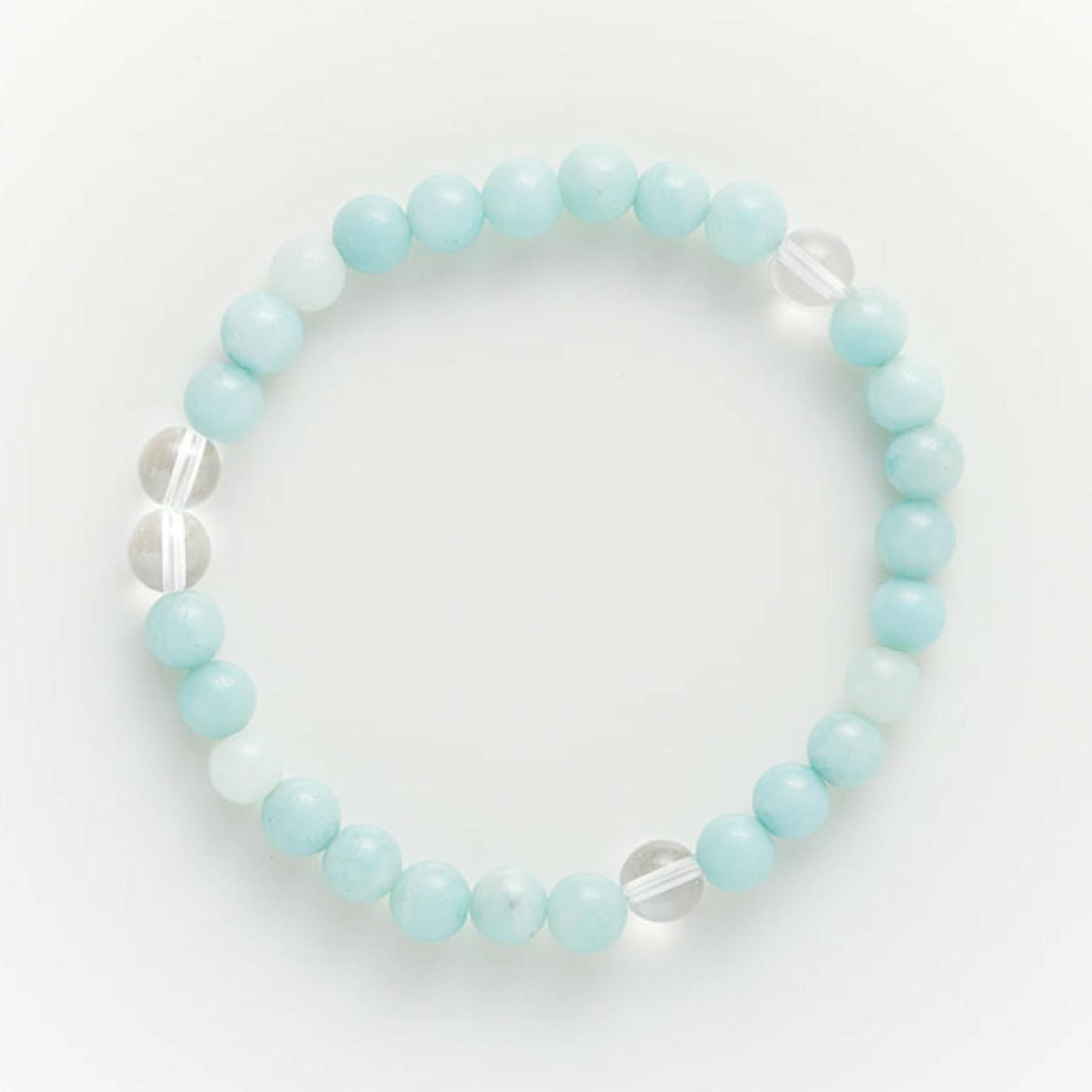 Amazonite Mala Bracelet Great For Feeling Hope Faith And Trust