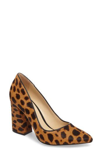 Vince Camuto Vince Camuto Talise Genuine Calf Hair Pointy Toe Pump (Women) available at #Nordstrom
