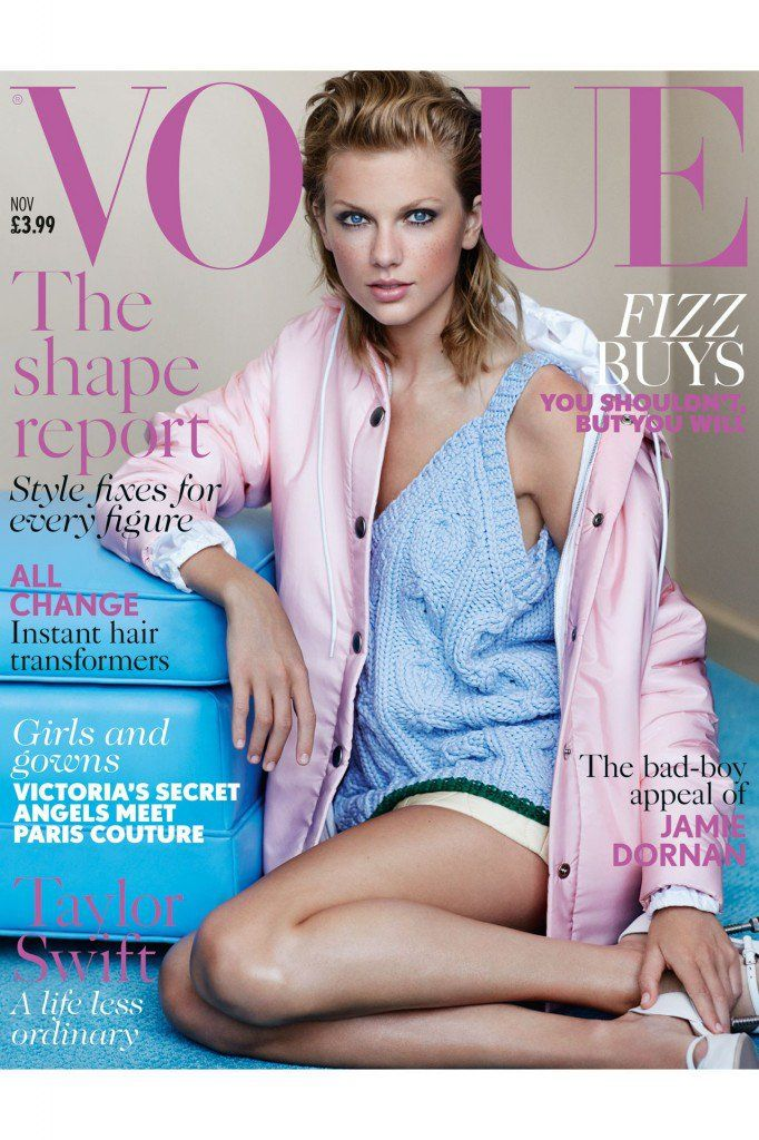 Taylor Swift Gets Personal For British Vogue