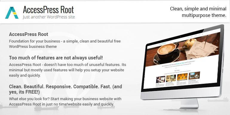 Beautiful free business wordpress theme accesspress root list of beautiful free business wordpress theme accesspress root cheaphphosting Images
