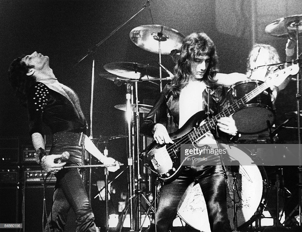 News Photo : Photo of Freddie MERCURY and John DEACON and...