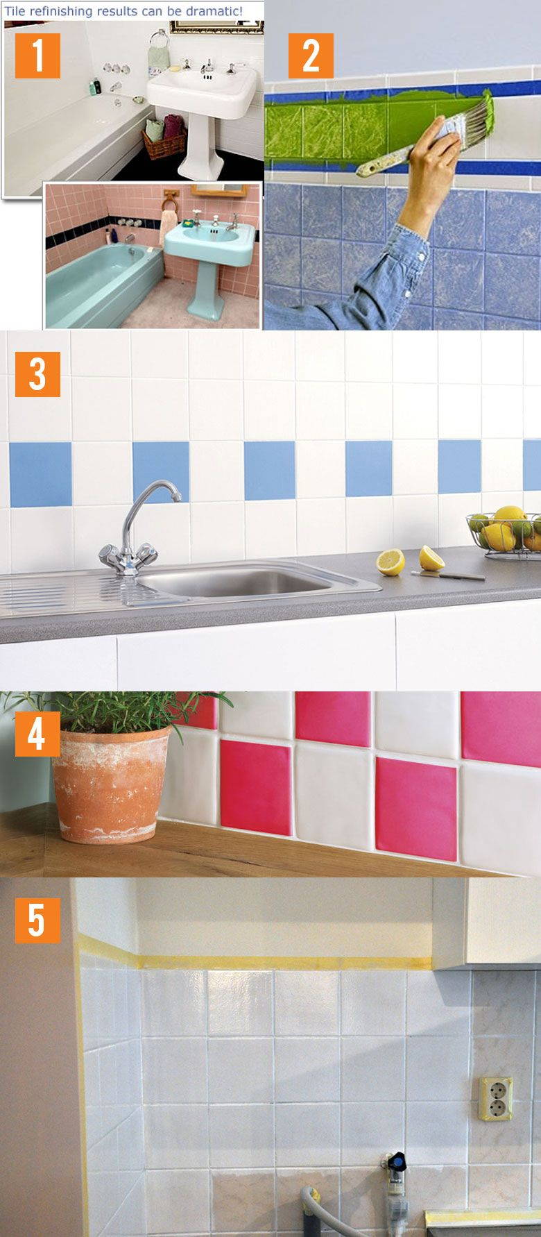 budgi-badkamer-restyle-tegelverf-praxis-gamma | Klussen | Pinterest ...