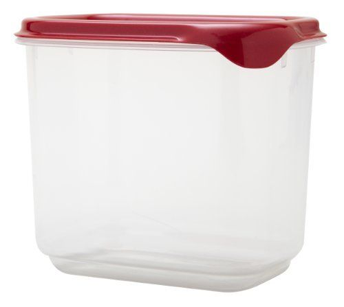 Starmaid Clear Edge Tall Food Storage Container 1 Quart Clear Red Lid By Starmaid Kitchen 4 29 Made From Food Storage Food Storage Containers Premium Food
