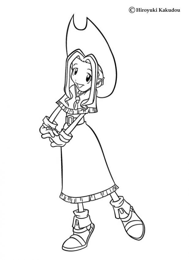Add Some Colors Of Your Imagination And Make This Beautiful Mimi Coloring Page More Digimon
