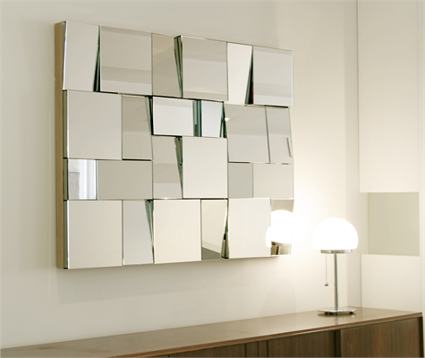 Inspiration board fragmented mirrors perspective cool for Cool mirrors for bedrooms