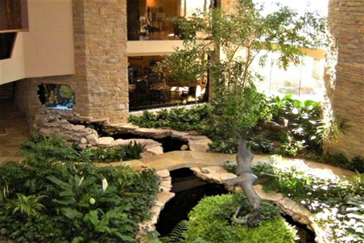 Oak Brook Indoor Koi Stream   Indoors : Streams   Pinterest   House