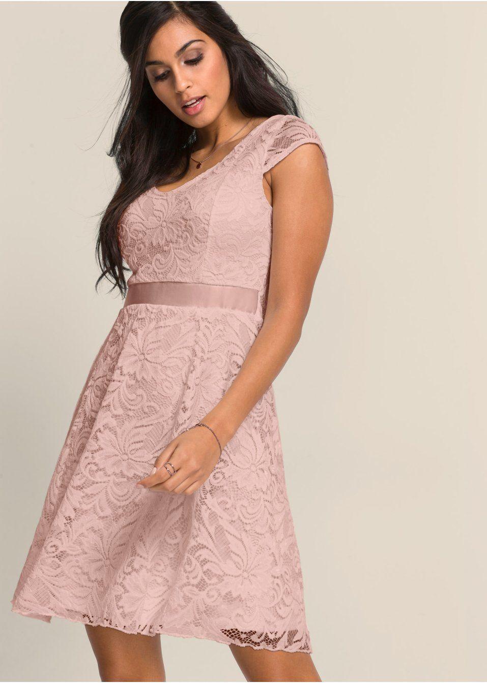Wonderbaarlijk Jersey jurk met kant (met afbeeldingen) | Jurken, Mode, Prachtige PL-81