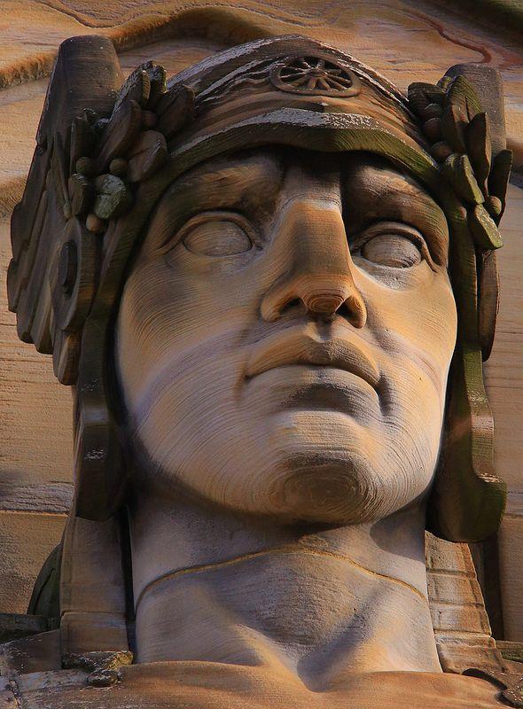 The Guardians Of Traffic Cleveland Art Deco Design Sculpture Art Portrait Sculpture