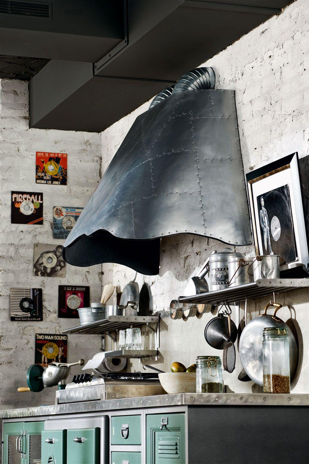 Cucine con cappa decorativa   Cucine country, Cucine vintage ...