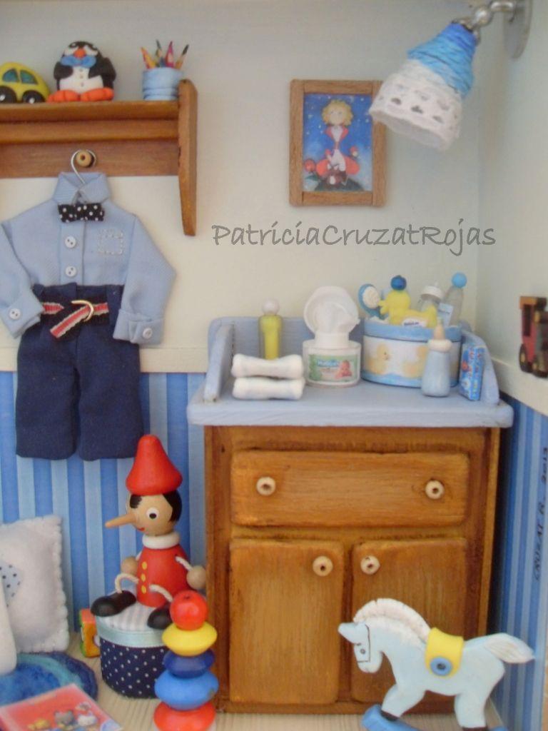 Detalle Cuadro Niño con Miniaturas | handmade | Pinterest | Cuadros ...