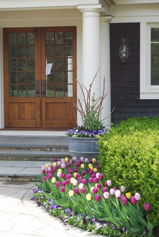 In home garden ideas   Lovely Tulips Arrangement Tips for Your Home Garden Ideas