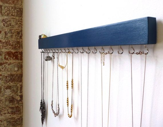 Jewelry Organizer Midnight Blue Gift For Her by FreshlyFramed