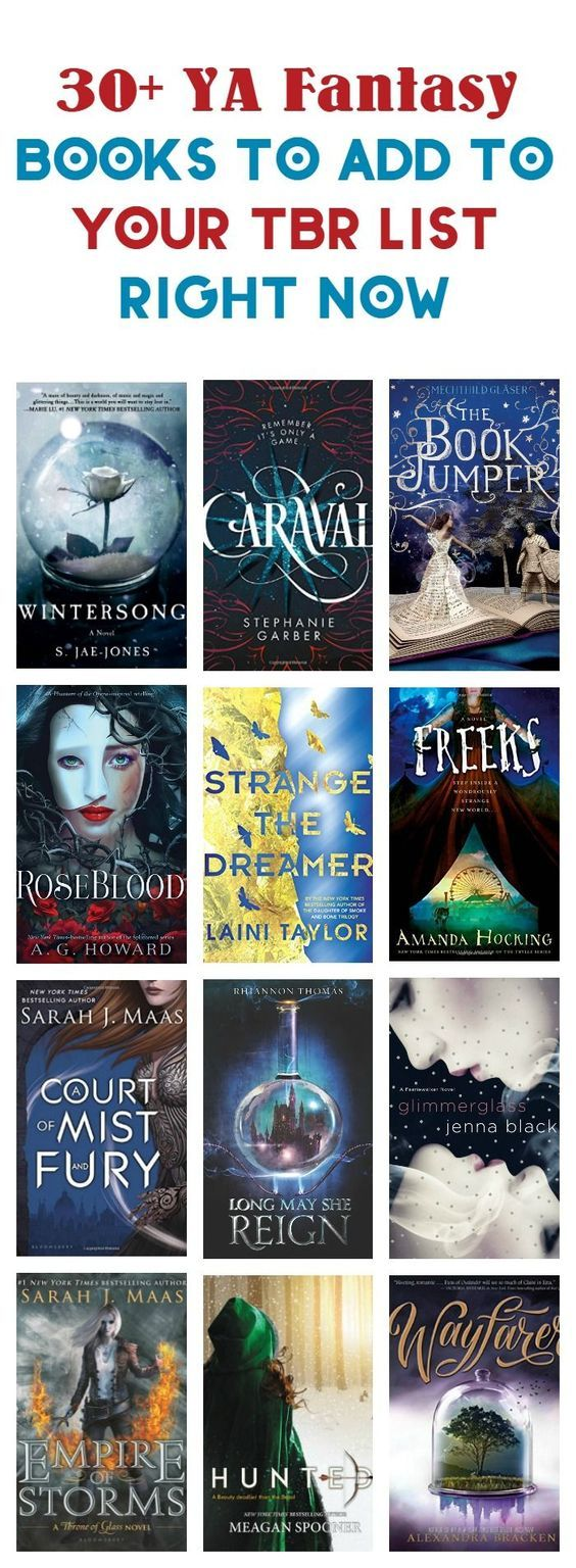 30 Ya Fantasy Books That Absolutely Need To Be On Your -6855