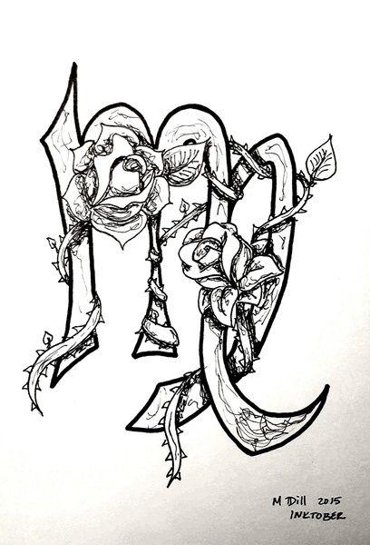 Zodiac Sign Leo Tattoos Sketch Design
