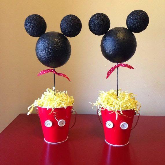 decoracin de fiestas infantiles de mickey mouse