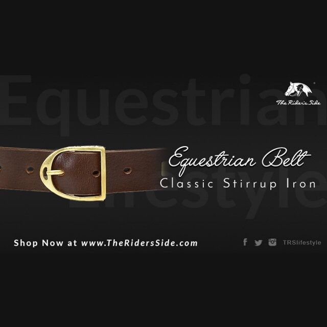 Get Formal!! #equestrian #stirrupiron #fashion #belt for  #men and #women. Discover equestrian belts on www.theridersside.com