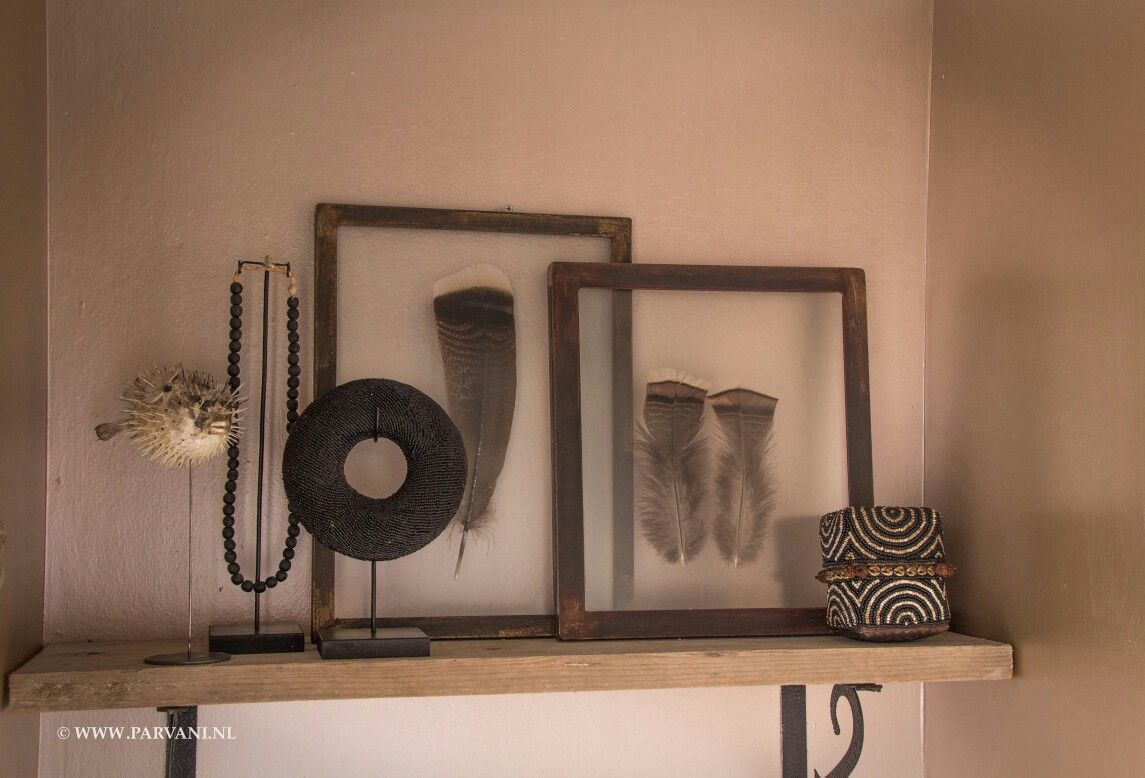 Veren In Huis : Home veren in ijzeren frame ketting en armband op standaard uit