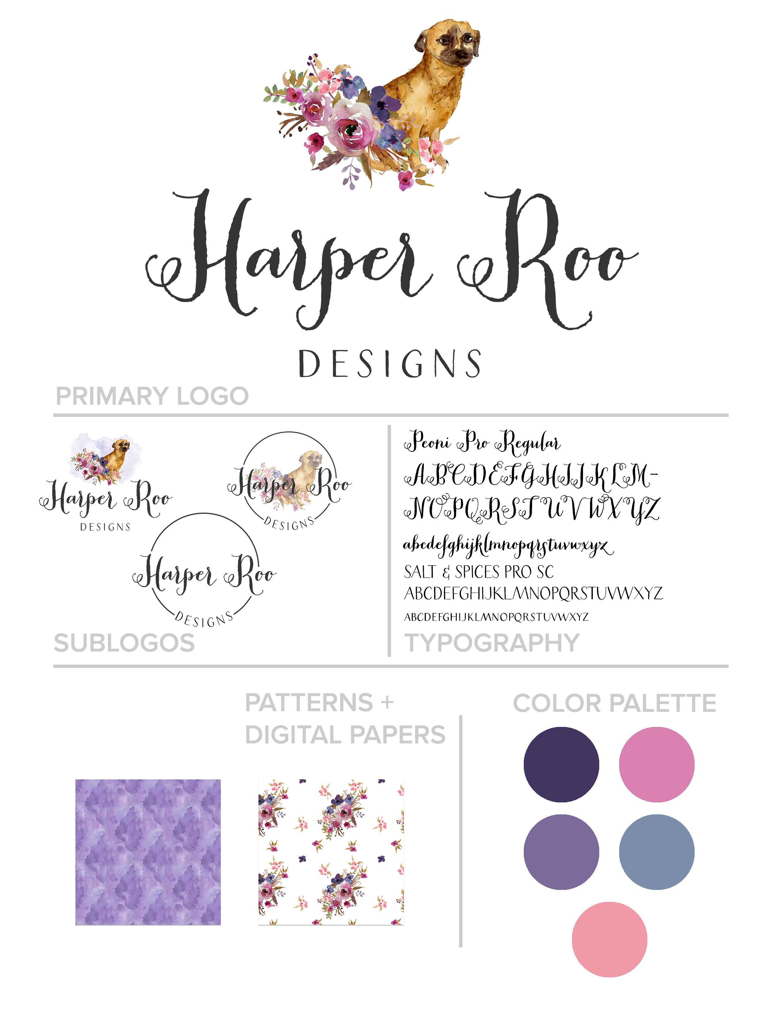 autumn lane paperie business branding brand identity idea
