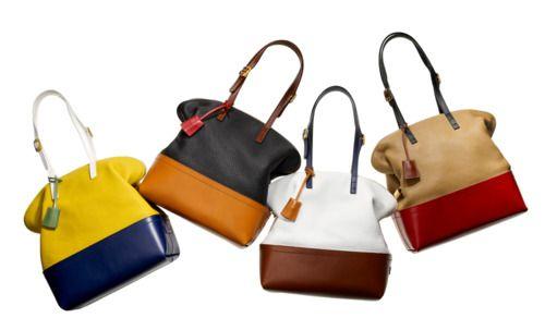 Fendi block colored bags.