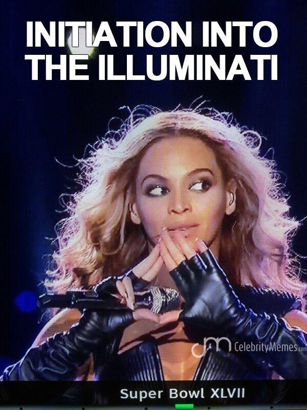 Beyonce\'s initiation into the illuminati   Illuminati is ...   600 x 800 jpeg 86kB