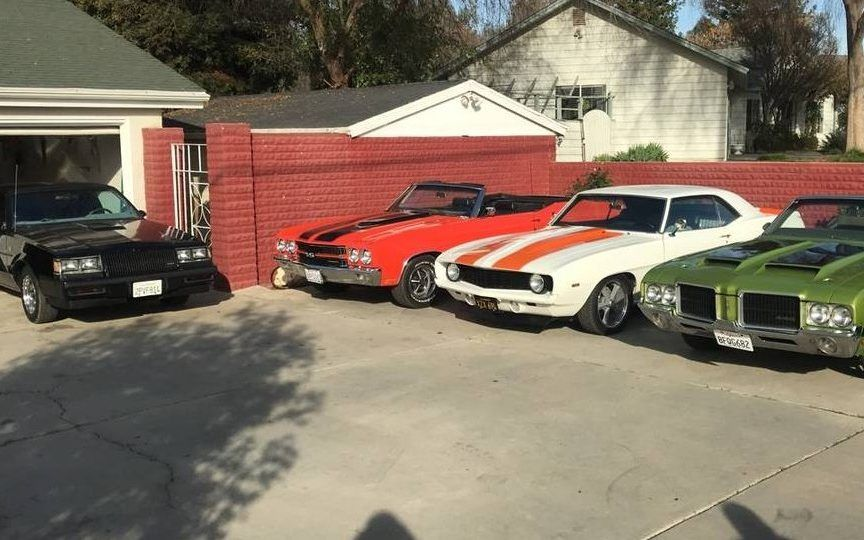 Six Figure Gm Muscle Car Collection On Craigslist Barn