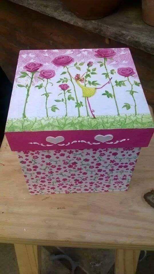 Ideas To Decorate A Box Pingaby Bravo On Servilletas  Pinterest