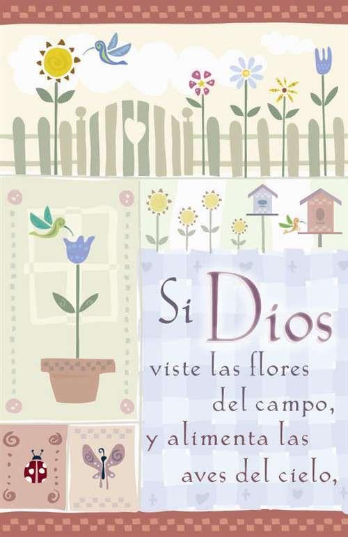 Si Dios Viste Las Flores Del Campo Tbe 024 Flores Mensajes