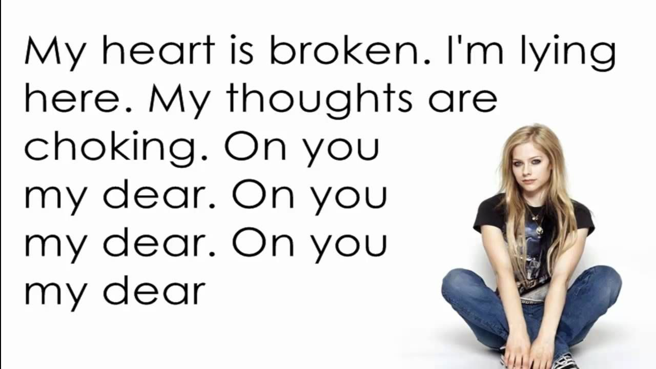 Avril Lavigne - Together [Lyrics/Letra]