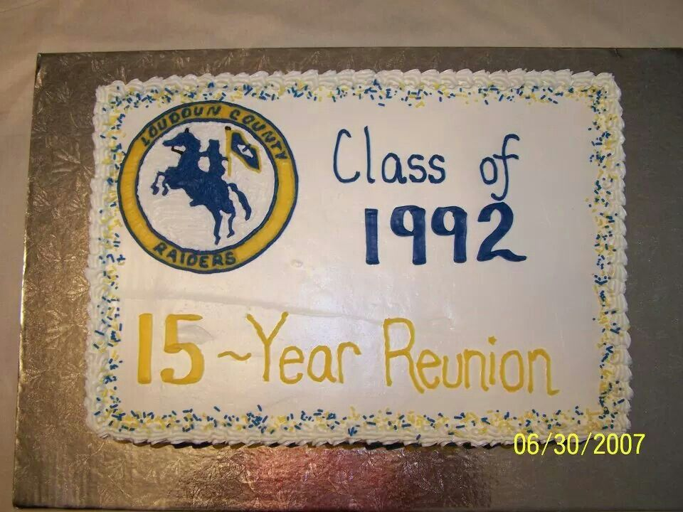 Cakes U Remember Made This Cake For My 15 Yr High School Class
