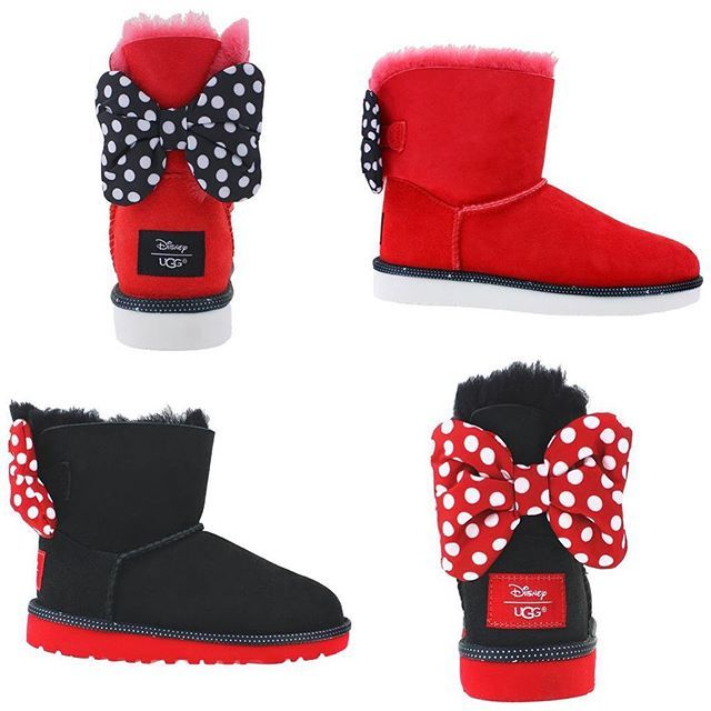 762d17c1bd4 Minnie Mouse Uggs collection | I'm a princess at heart | Uggs ...