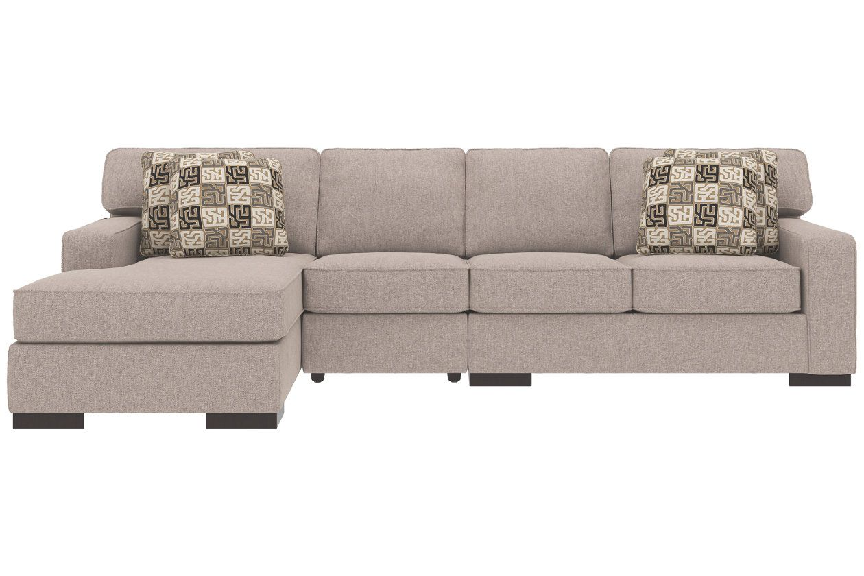ashlor nuvella 3 piece sectional and pillows home ideas 3 piece rh pinterest com