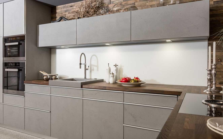 Küchen Fries, Küche, Kitchen, Beton, Betonoptik, Moderne Küche, Grau ...