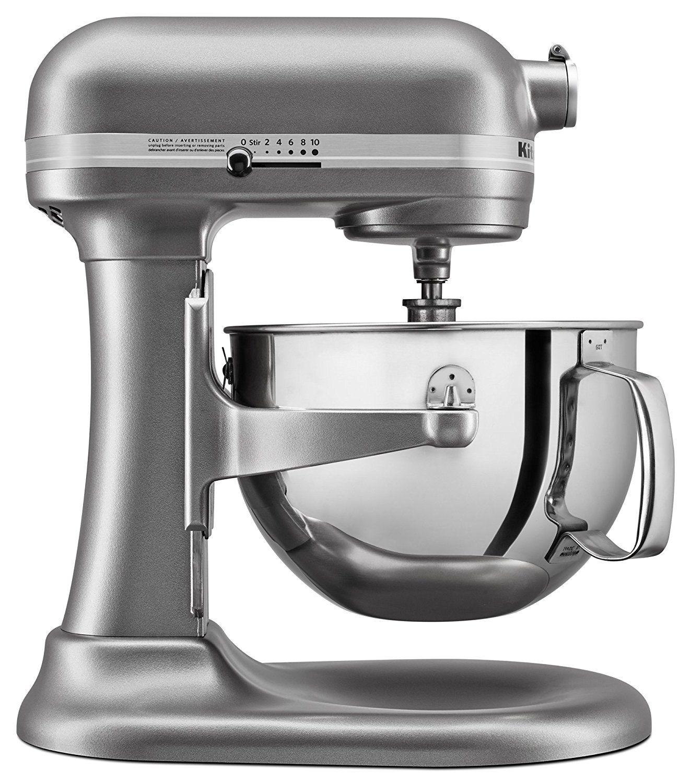 Professional 6-quart mixer by KitchenAid in Contour Silver. | Colors ...