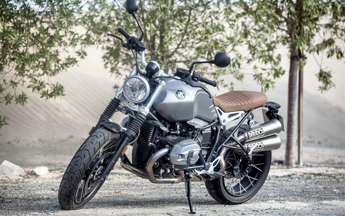 Download Wallpapers BMW R NineT Scrambler 2017 4k Series Cool Motorcycle