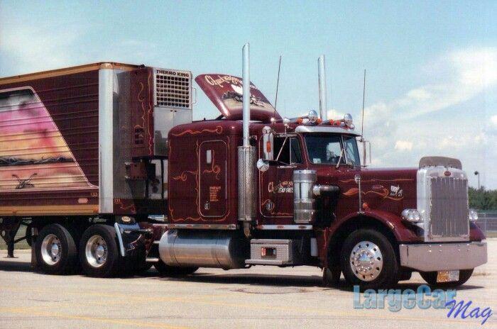 Peterbilt 359 from Chuckwagon Express