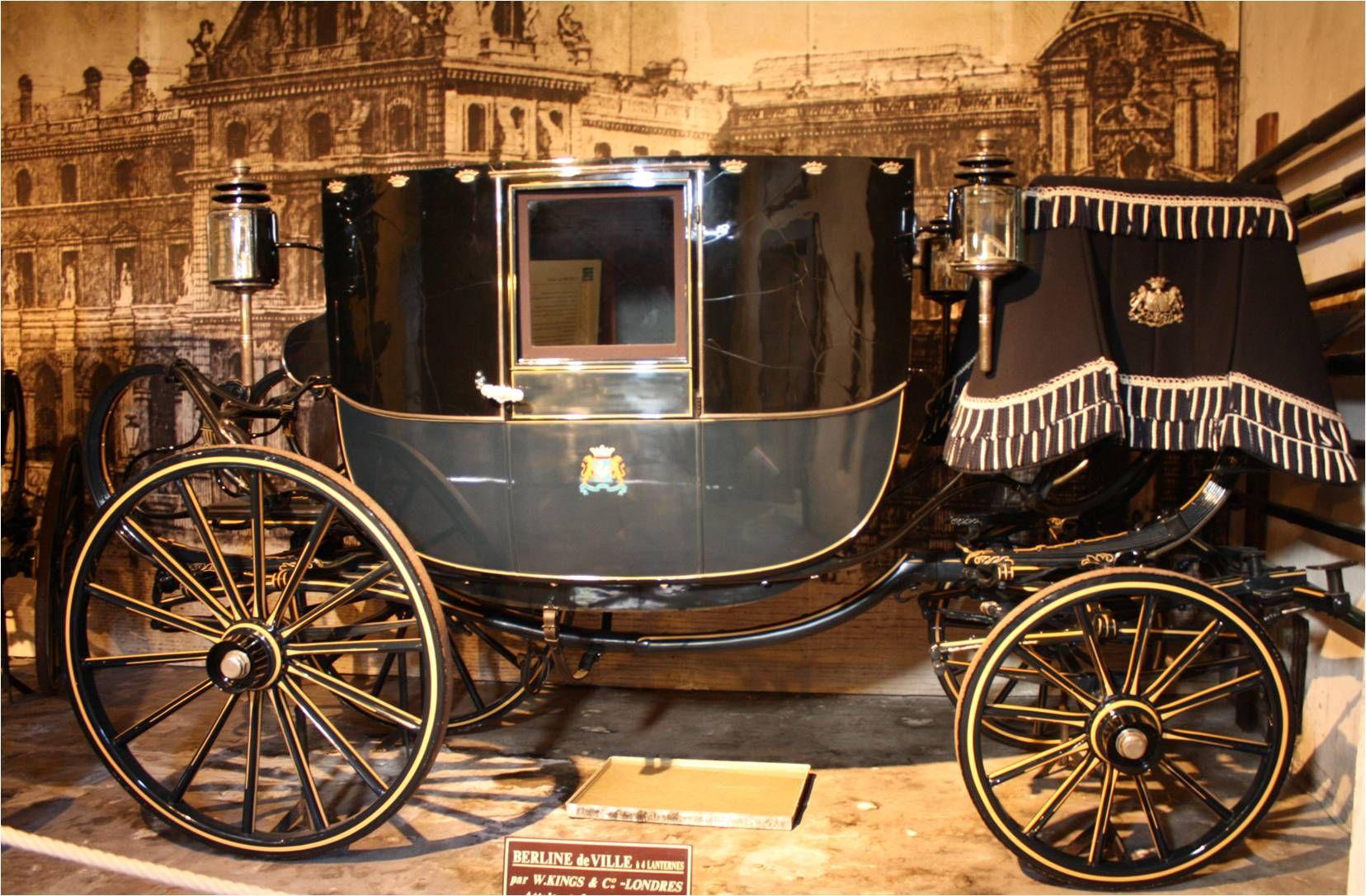 Berline / Carriage Museum at Chateau Vaux le Vicomte, France